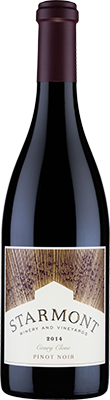 Starmont Winery & Vineyards Pinot Noir, Coury Clone Bottle Preview