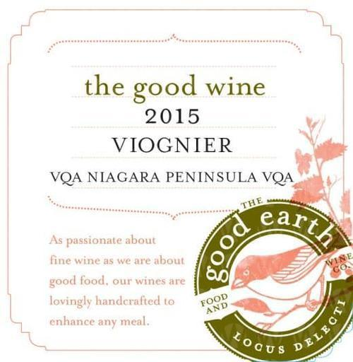 The Good Earth Vineyard and Winery Viognier
