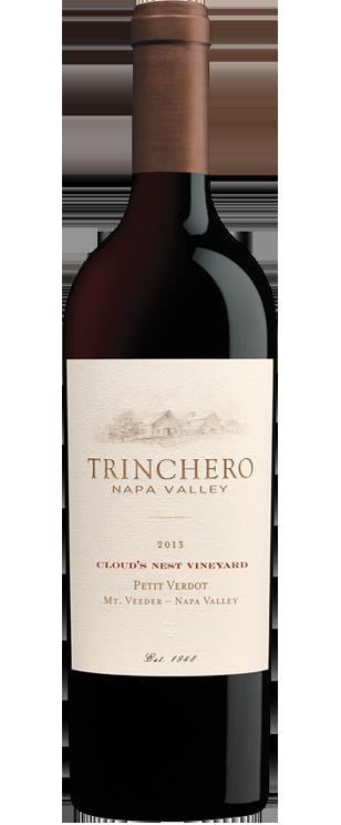 Trinchero Napa Valley Cloud's Nest Vineyard Petit Verdot Bottle Preview