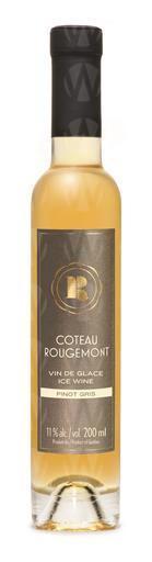 Vignoble Coteau Rougemont Pinot Gris Vin De Glace