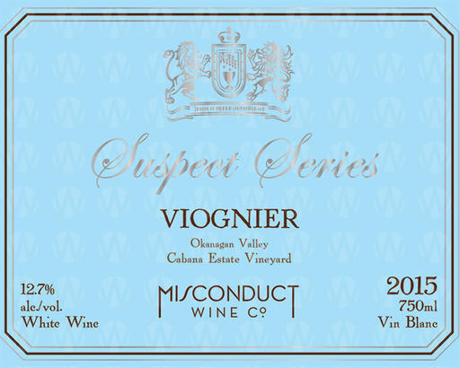 Misconduct Wine Co. Suspect Series Viognier