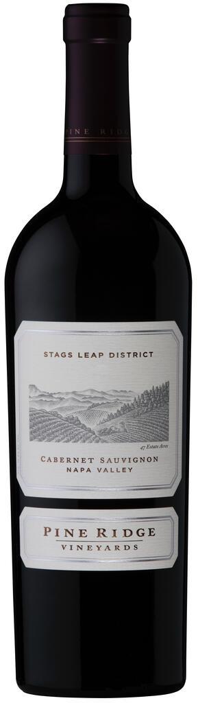 Pine Ridge Vineyards Stags Leap District Cabernet Sauvignon Bottle Preview