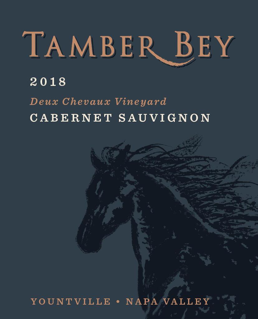 Tamber Bey Vineyards Deux Chevaux Vineyard Cabernet Sauvignon Bottle Preview