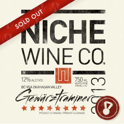 Niche Wine Company Gewurztraminer