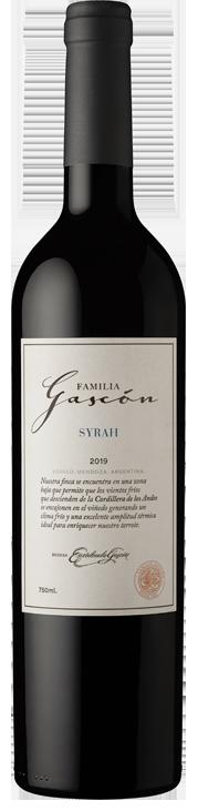 FAMILIA GASCÓN - SYRAH Bottle