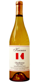 Keenan Winery Chardonnay Spring Mountain District Bottle Preview