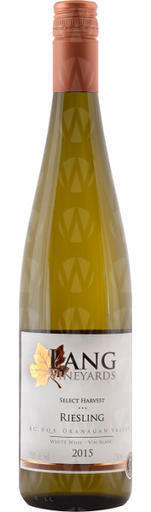 Lang Vineyards Select Harvest Riesling