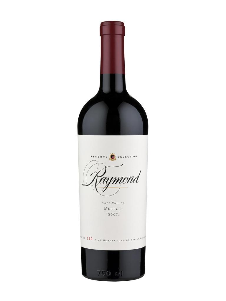 Raymond Vineyards Reserve Selection Napa Valley Merlot Bottle Preview