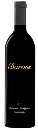 Barons Winery Columbia Valley Cabernet Sauvignon Bottle Preview