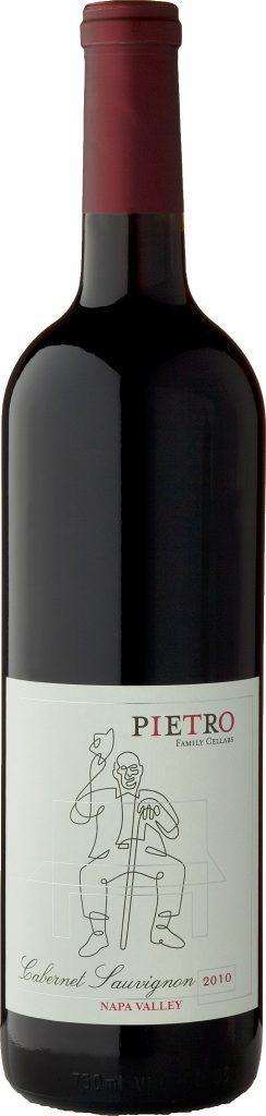 Pietro Family Cellars Cabernet Sauvignon, Napa Valley Bottle