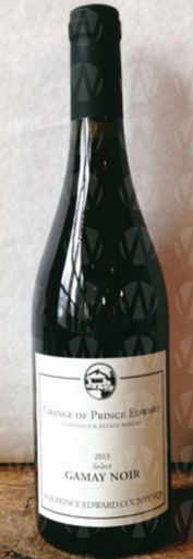 The Grange of Prince Edward Vineyards and Estate Winery Select Gamay Noir