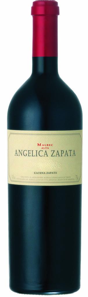Angélica Zapata Malbec Alta Bottle