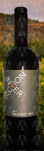 Intersection Winery Milepost Red