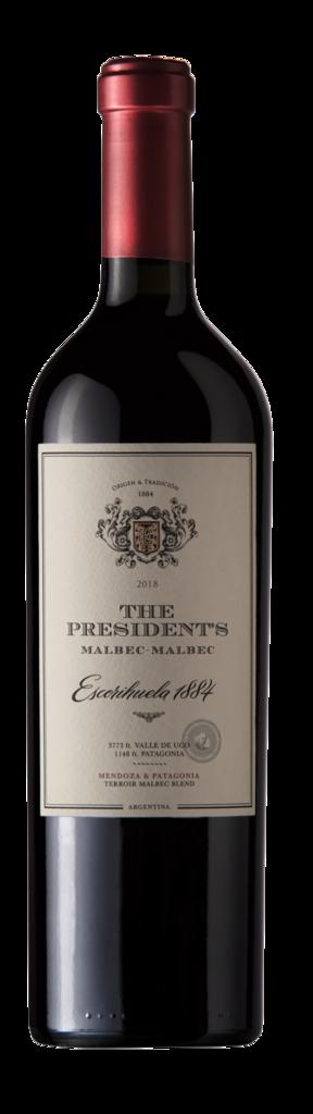 Escorihuela 1884 The President ́s - Malbec / Malbec Bottle