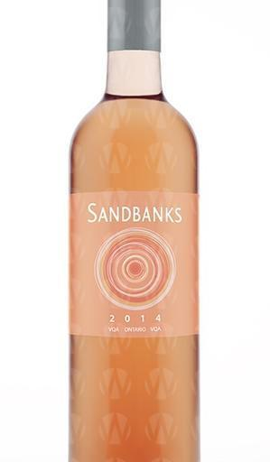Sandbanks Estate Winery Rose