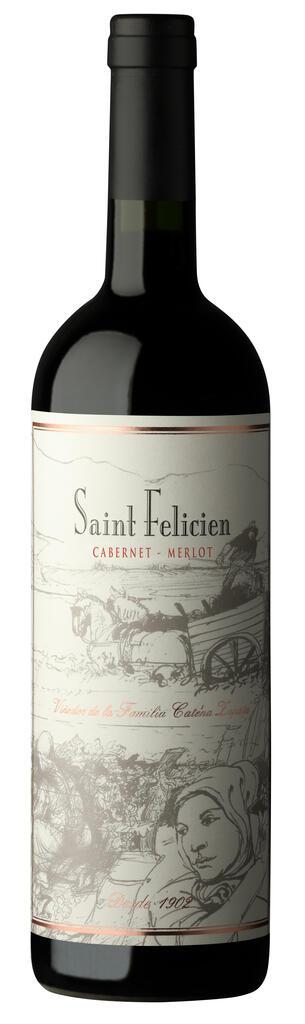 Saint Felicien Cabernet - Merlot Bottle