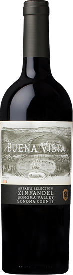 Buena Vista Winery Antal's Selection Zinfandel Bottle Preview