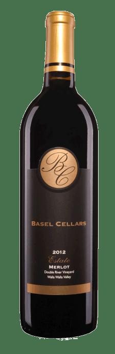 Basel Cellars Estate Winery Double River Vineyard Merlot Bottle Preview