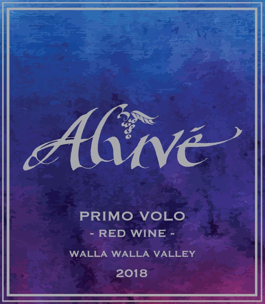 ALUVÉ Primo Volo Red Wine Signature Blend Bottle Preview