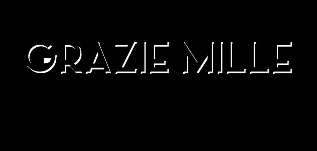 Grazie Mille - Design Wines Logo