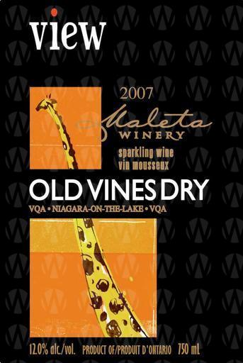 Maleta Estate Winery View Old Vines  Dry - Sparkling