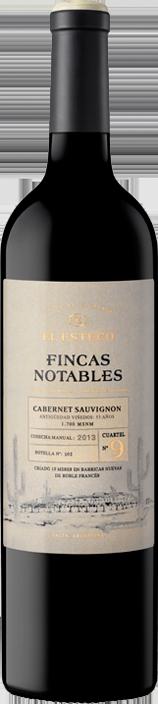 El Esteco Fincas Notables Cabernet Sauvignon Bottle Preview