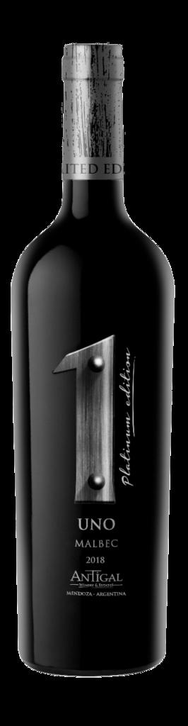 Antigal Winery & Estates UNO Platinum Edition Malbec Bottle Preview