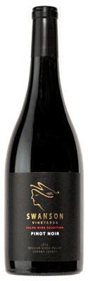 Swanson Vineyards Salon Pinot Noir Bottle Preview