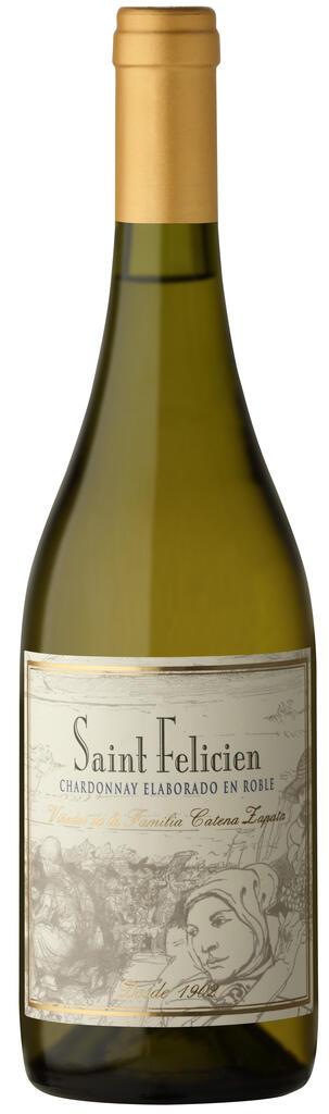 Saint Felicien Chardonnay Barrel Fermented Bottle