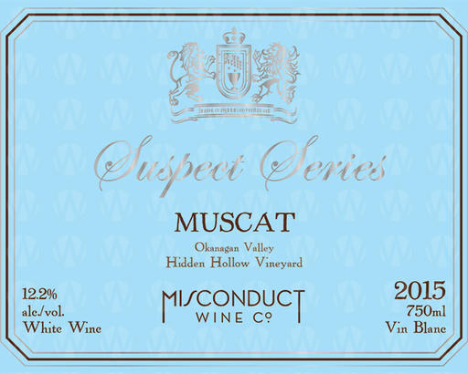 Misconduct Wine Co. Suspect Series Muscat