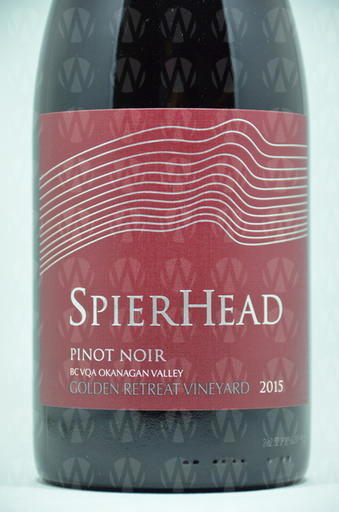 SpearHead Winery Pinot Noir Golden Retreat Vineyard