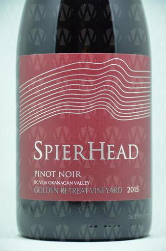 SpierHead Winery Pinot Noir Golden Retreat Vineyard