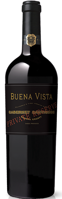 Buena Vista Winery Private Reserve Cabernet Sauvignon Bottle Preview