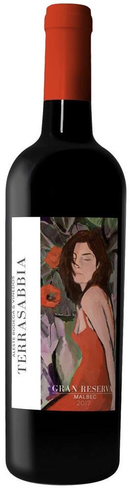 Vino Malbec Terrasabbia Gran Reserva Bottle