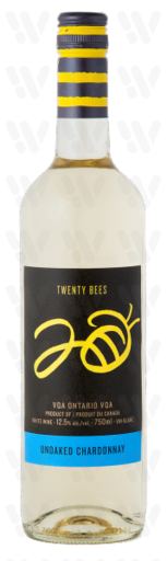 20 Bees Unoaked Chardonnay
