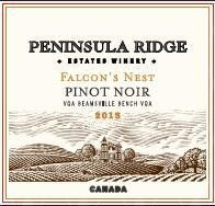 Peninsula Ridge Estates Winery Falcon's Nest Pinot Noir