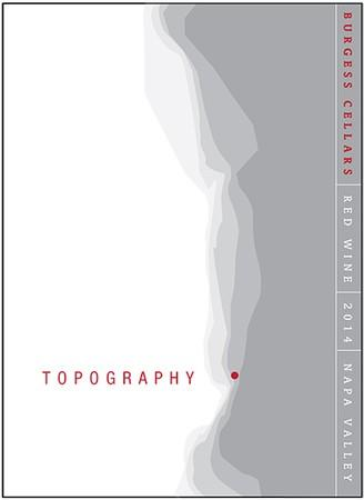 """Burgess Cellars Topography Wine """"Topography Matters"""" Red Wine Bottle Preview"""