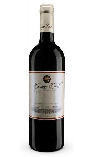 Cougar Crest Estate Winery Petit Verdot Bottle Preview