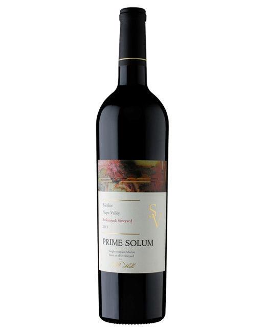 Prime Solum SV Brokenrock Vineyard Merlot Bottle Preview
