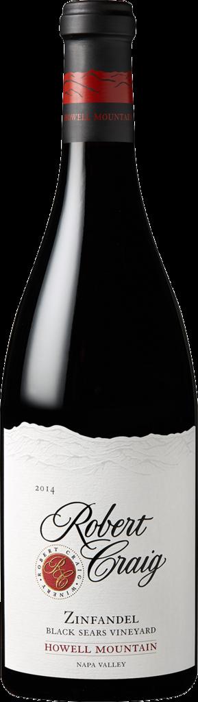 Robert Craig Winery Howell Mountain Zinfandel Bottle Preview