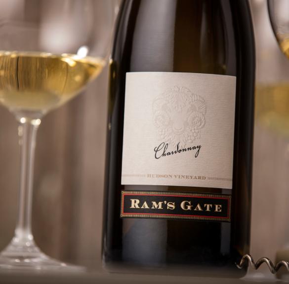 Ram's Gate Winery Chardonnay, Hudson Vineyard Bottle Preview