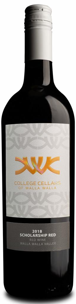 College Cellars of Walla Walla Scholarship Red Bottle Preview
