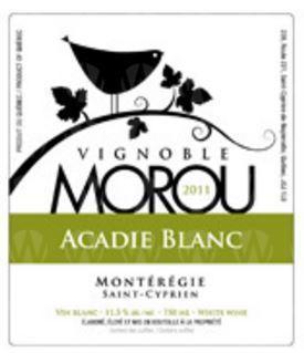 Vignoble Morou L'Acadie Blanc
