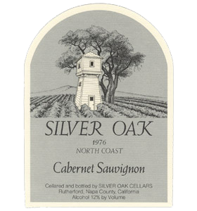 Silver Oak North Coast Cabernet Sauvignon Bottle Preview