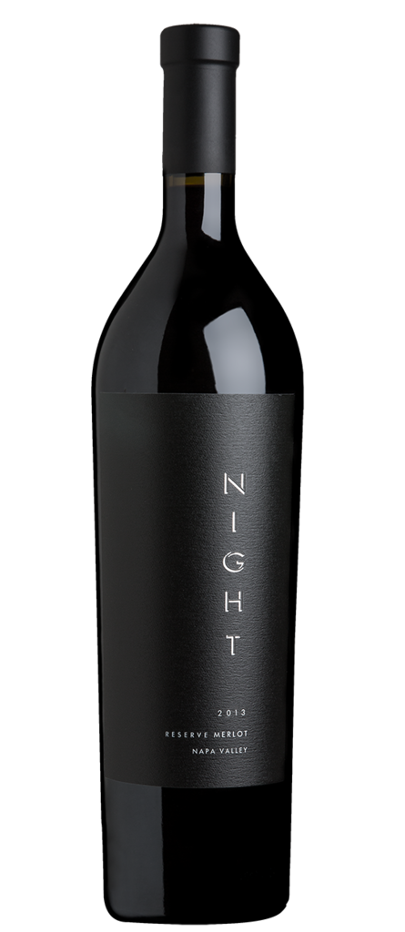 Night Wines Reserve Merlot Bottle Preview