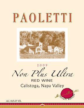 Paoletti Estates Winery Non Plus Ultra Bottle Preview