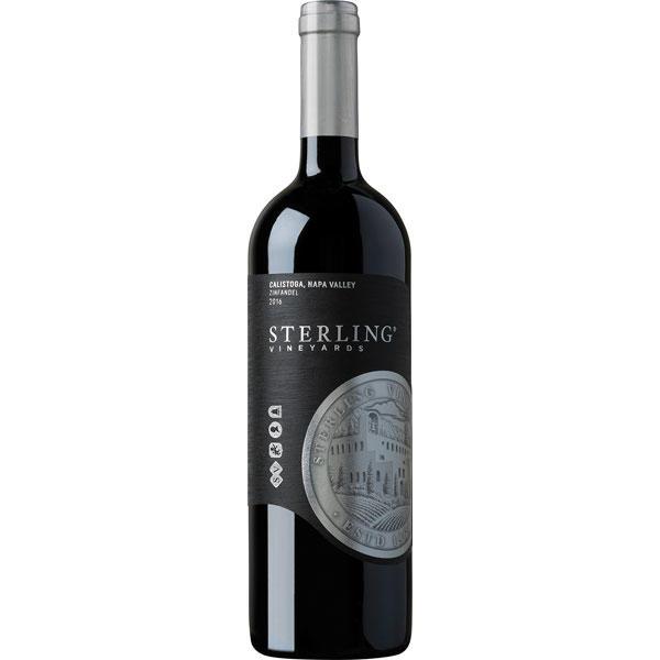 Sterling Vineyards Zinfandel Calistoga Bottle Preview