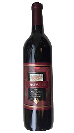 Hagafen Estate Bottled Napa Valley Cabernet Sauvignon Bottle