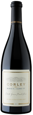 Corley Family Napa Valley - Monticello Vineyards Block II | Clone 777 Estate Grown Pinot Noir Bottle Preview