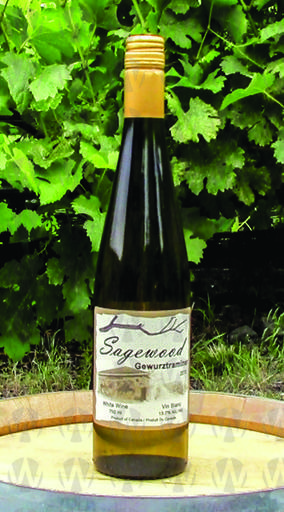 Sagewood Winery Gewurztraminer